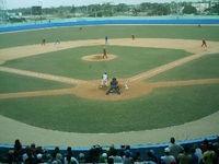 Estadio José Ramón Cepero, aquí dio inicio la LII Serie Nacional de Béisbol.