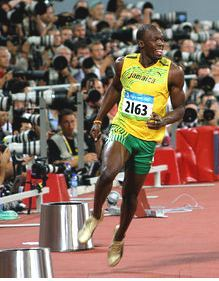 Usain Bolt ganó este año 2012 tres títulos olímpicos.