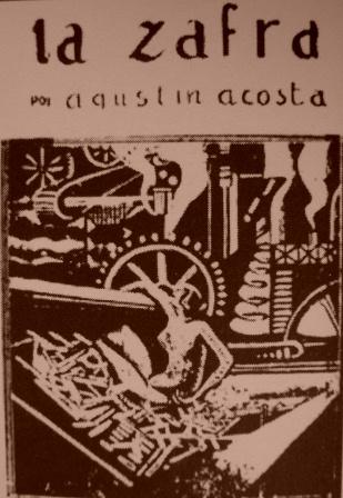 Portada de La Zafra, la obra más importante de Agustín Acosta.