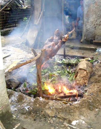 Práctica culinaria en pleno ocaso.