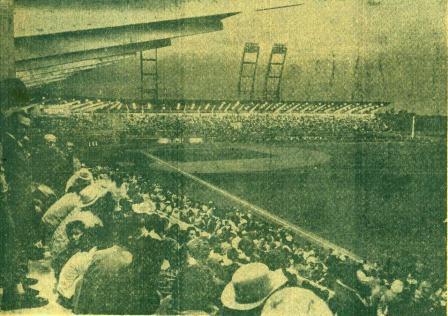 Lleno total cuando se inauguró el estadio Sandino, imagen pocas veces repetida.