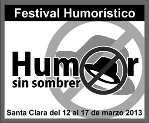Cartel del festival humorístico.
