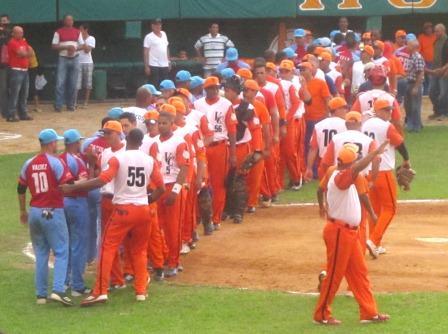Los equipo de Ciego de Ávila y  Villa Clara entre los ocho mejores del país. Foto cortesía de Jesús Hernández.