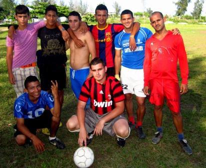 Equipo Atlético Forestal, campeón de la primera Copa Cubanacán.
