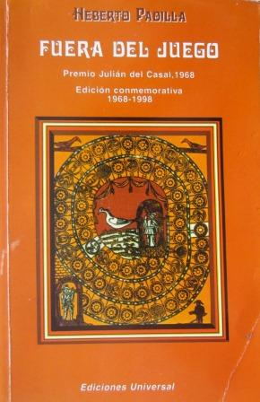 Portada de la edición conmemorativa del libro Fuera de Juego.