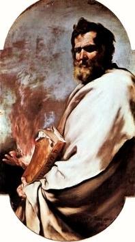 Profeta Elías, obra de José de Ribera.