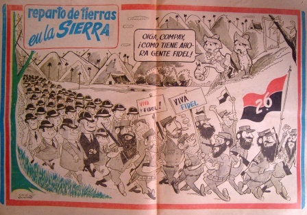 Esta caricatura de Zig-Zag provocó el primer ataque de Castro contra la prensa libre