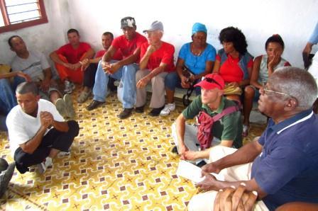 Las reuniones de la organización opositora Fantu-Unpacu son vigiladas por las fuerzas del régimen.